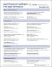 Legal Resources Catalogue