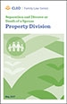 Separation and Divorce or Death of a Spouse: Property Division